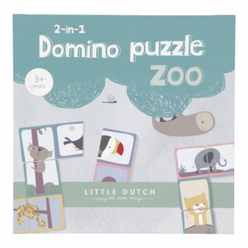 Little Dutch Domino puzzel -€10,95