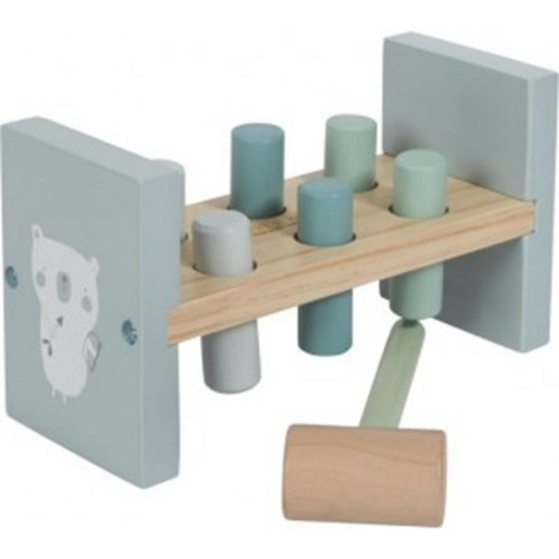 Little Dutch houten hamerbank -€10,95