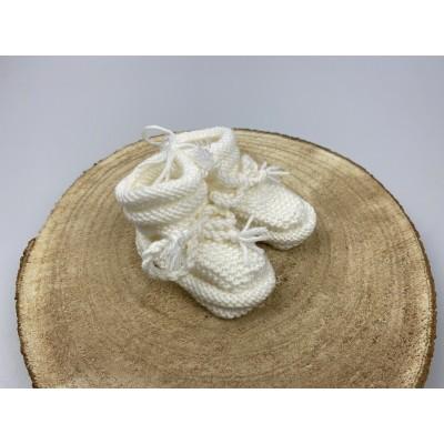 Newborn slofjes, 0-3 maanden -€9,95