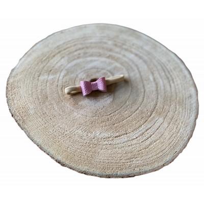 Newborn haarband donkerroze parelmoer -€3,50