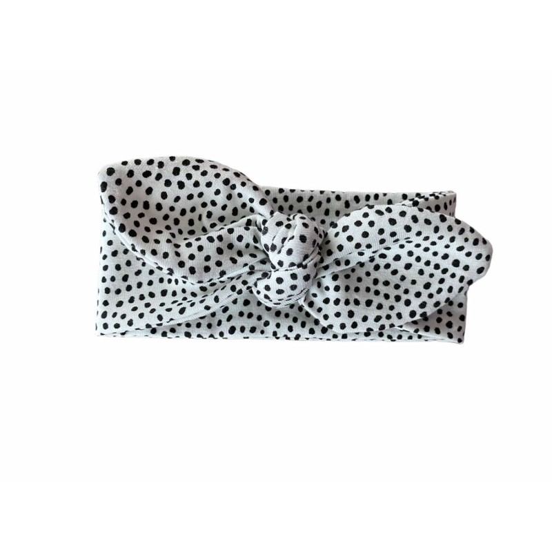 Haarband, knoophaarband dots -€7,95