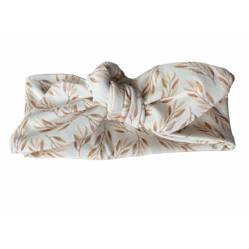 Knoophaarband, haarband olijftakjes -€7,95