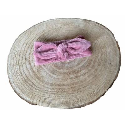 Knoophaarband, haarband oud roze -€7,95
