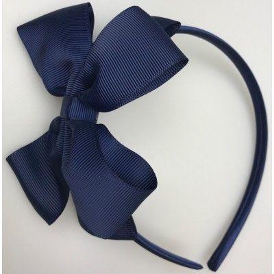 Haarband donder blauw